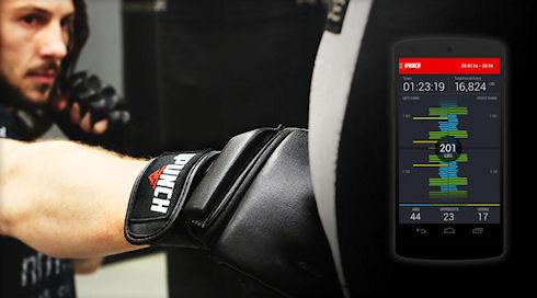 «Умные» боксерские перчатки iPunch