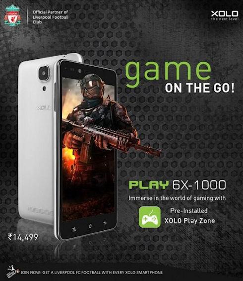 Play 6X-1000 – доступный премиум-смартфон от Xolo