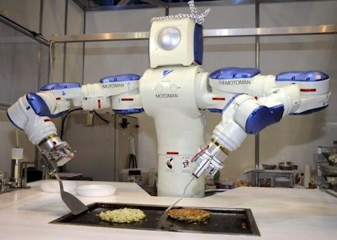 «RoboHow» — интернет научит роботов уму-разуму