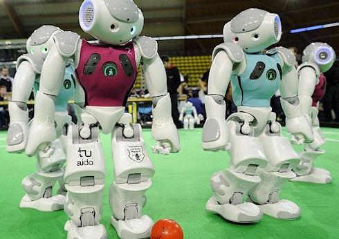 Чемпионат мира по футболу среди роботов RoboCup 2014 пройдет в Бразилии