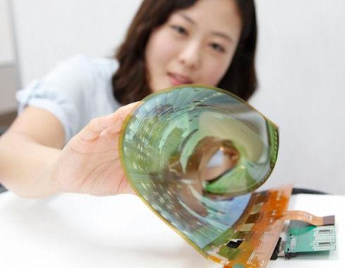 LG начала разработку гибких и прозрачных дисплеев больших размеров
