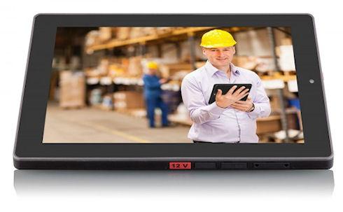 VIA Viega – защищенный планшет с аккумулятором на 9 часов работы