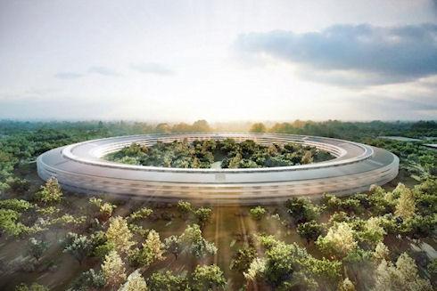 Apple продолжает строительство новой штаб-квартиры