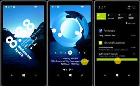 Microsoft разработала управляющее приложение для экрана блокировки Windows Phone 8