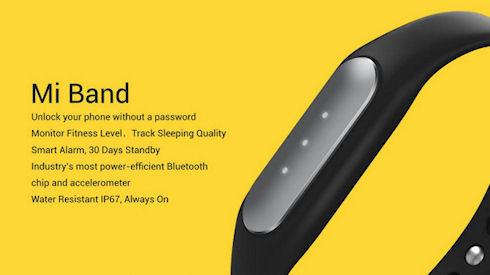 Xiaomi Mi Band – многофункциональный фитнес браслет