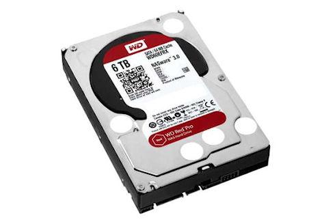 Доступные жесткие диски Western Digital объемом 6 ТБ