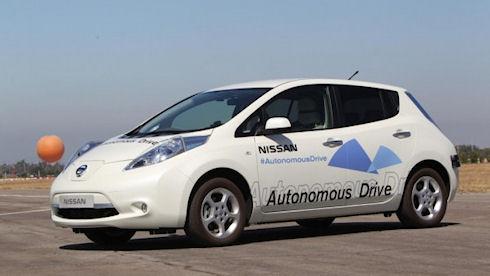 Nissan Leaf – «умный» автопилот для безопасного вождения