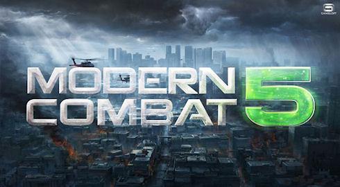 ModernCombat 5: Blackout – премьера в Google Play