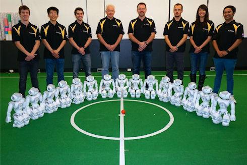 Чемпионат мира по футболу среди роботов RoboCup 2014 выиграла команда из Австралии
