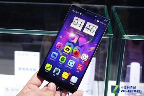 Новый смартфон Lenovo K920 с 6-дюймовым QHD-дисплеем