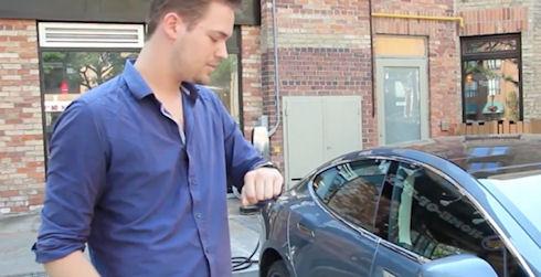 Tesla Model S получит поддержку Android Wear