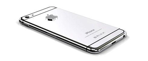 Платиновый iPhone 6 оценили в 8,7 тыс. долларов