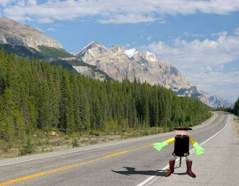 HitchBOT – робот отправится в путешествие по Канаде автостопом