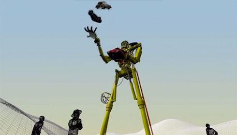 BugJuggler – робот для жонглирования автомобилями