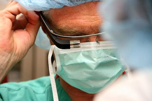 В США Google Glass используют для медицинской практики