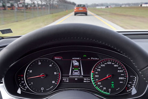 Traffic Jam Pilot от Audi – технология эффективного автопилота