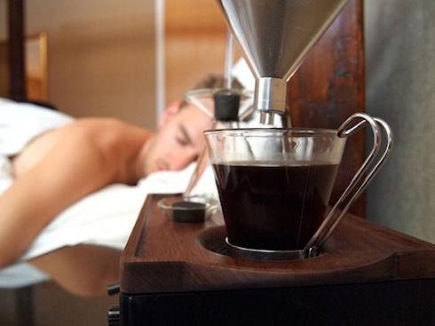 Barisieur – будильник с чашечкой кофе