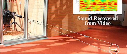 Ученым удалось услышать звук с помощью видеокамеры