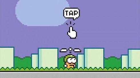Swing Copters – веселый последователь Flappy Bird