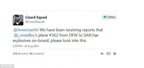 Сообщение в Твиттере привело к экстренной посадке самолета