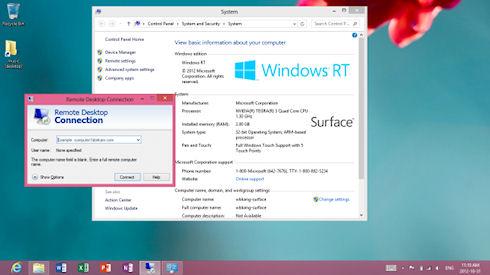Microsoft оставит в Windows RT только интерфейс Modern UI