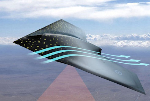 Ученые создают «умное» покрытие для самолетов