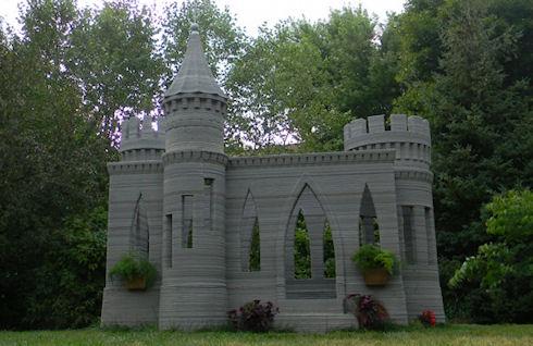 Энтузиаст напечатал на 3D-принтере средневековый замок