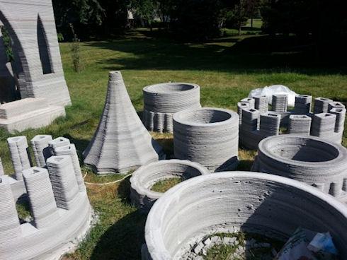 Энтузиаст напечатал на 3D принтере средневековый замок