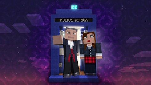 Доктор Кто появится в Minecraft