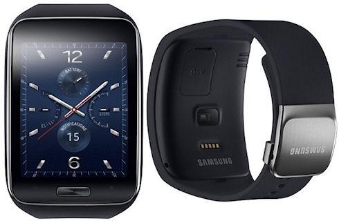 Часы Samsung Gear S – изогнутый дисплей и поддержка 3G
