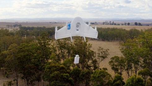 Project Wing – дрон для службы доставки Google