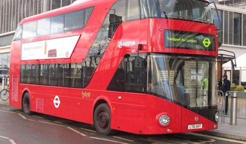 Автобусы Лондона переведут на экологически безопасное топливо