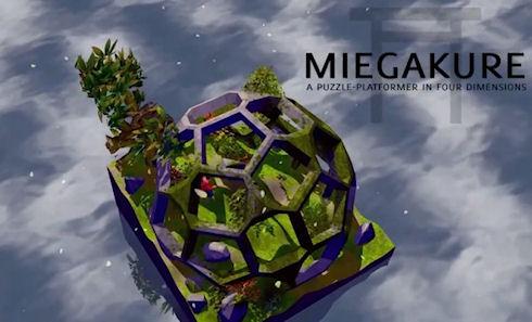 Четырехмерный платформер Miegakure