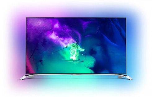 Philips выпускает изогнутый телевизор и медиаплеер на Android