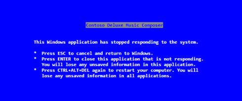 Стив Балмер оказался автором текста «синего экрана смерти» Windows