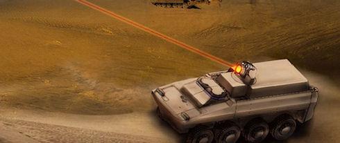 В США испытали боевой лазер HEL MD с контроллером от Xbox