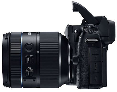 NX1 – профессиональная 28-дюймовая беззеркалка от Samsung