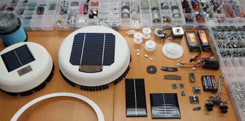 Scrobby – робот для очистки солнечных батарей