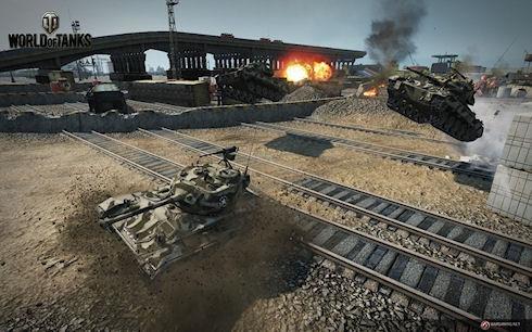 World of Tanks приглашает на танковые гонки