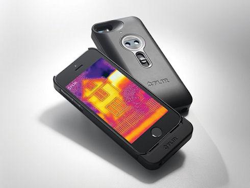 FLIR – тепловизор для iPhone 5