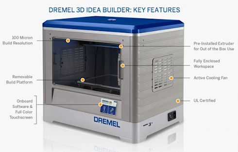 Dremel Idea Builder – доступный 3D-принтер за 999 долларов