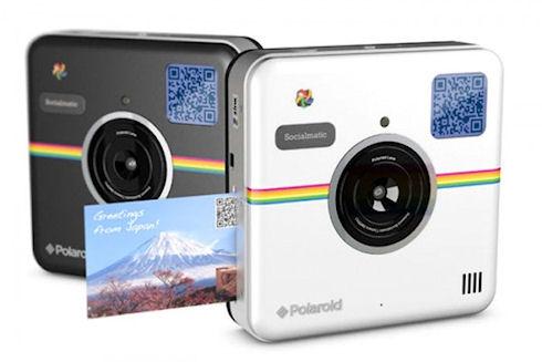 Socialmatic – современная ретро-камера Polaroid