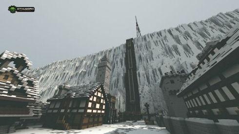 В Minecraft появилась локация из сериала «Игра престолов»
