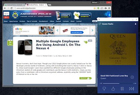 ArChon запускает Android-приложения в браузере Chrome