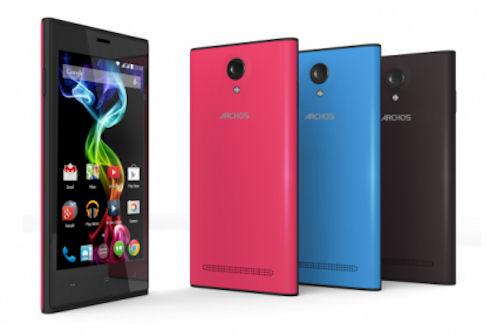 Archos 50b Platinum и 45c Platinum – продвинутые смартфоны по доступной цене