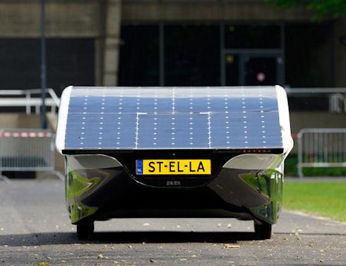 «Stella» — электрокар с запасом хода 800 км