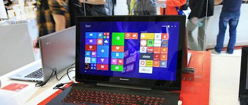 Сенсорные дисплеи покидают ноутбуки