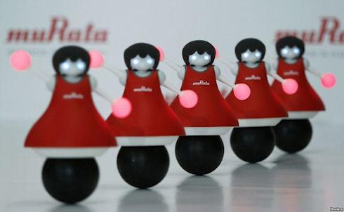 Роботы-болельщицы от японской компании Murata