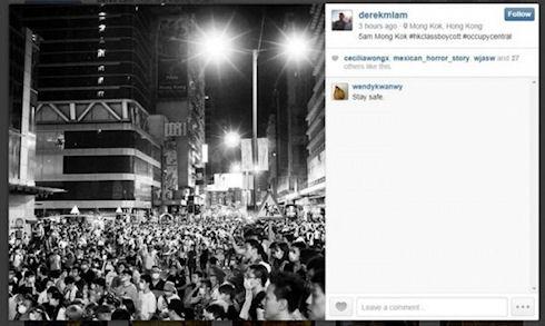 Китай отключил Instagram из-за волнений в Гонконге