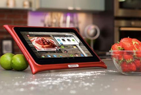 Qooq v3 – мощный «кухонный» планшет для домохозяек